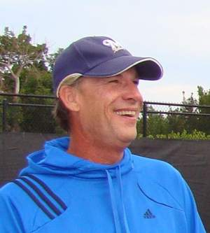 Doug Browne, who is beginning his 26th year as Director of Tennis at the Hideaway Beach Club on Marco Island, has been associated with the USPTA for 25 years, and had been playing, talking, and teaching tennis for most of his life.