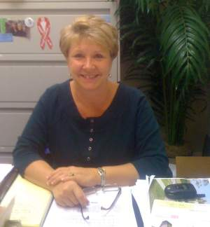 Liz Carr, City of Marco Island Code Compliance Officer, and Employee of the Month for December 2009.