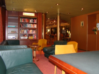 Library aboard ship