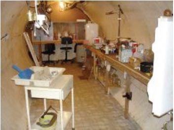 Gary Krist's undergound cocaine lab (Photo by Barrow County Sheriff)
