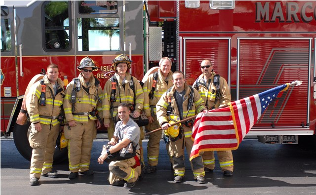MI Firefighters on 9-11-2010