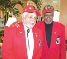 Lt. Col. Leo Gray (Left), Red Tailer. SUBMITTED PHOTO