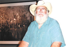 Ready for a swamp walk with Clyde Butcher. PHOTOS BY PATRICIA HUFF/COASTAL BREEZE NEWS