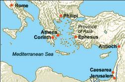 Ephesus map.