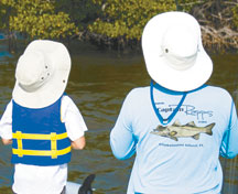"""Future fishing captain learning the """"Trade"""". PHOTOS BY CAPT. RAPPS/COASTAL BREEZE NEWS"""