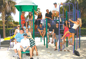 Last year's stars pose at Mackle Park. SUBMITTED PHOTOS