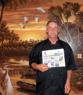 The Catch Chef Richard Sargent.