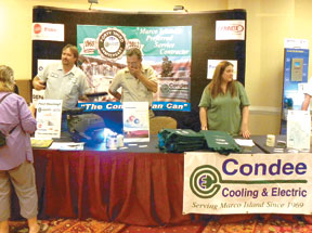 Condee Cooling and Electric were sponsors of the event.