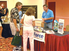 StormForce was on hand to discuss hurricane preparedness and security.