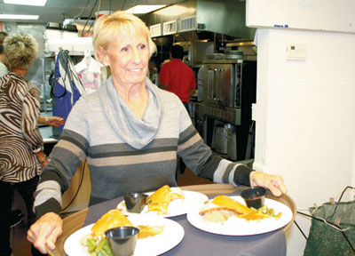 Ysabel Garland delivered meals in her first year as a volunteer.