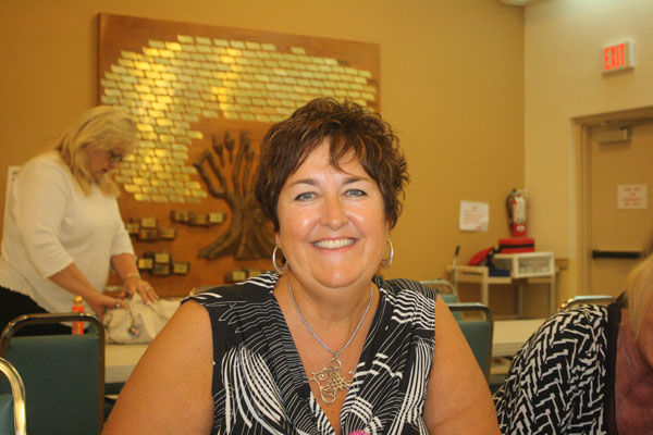 Nancy Kot of Marco Island was a BIG winner at Monday night's Bingo at the Jewish Congregation of Marco Island.