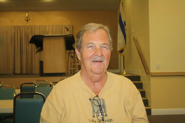 Keith Strong of Marco Island was a BIG winner at Monday night's Bingo at the Jewish Congregation of Marco Island.