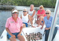 Fishing near mangrove edges can provide a boat full of fish! SUBMITTED PHOTO