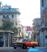 Old Havana photo by Dennis Giardiana