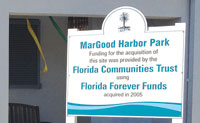MarGood Park was purchased with FloridaForever funds. PHOTOS BY NATALIE STROM