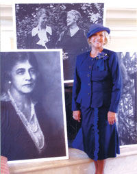 Bonnie Bozzo was the first woman delegate to the United Nations. SUBMITTED photo