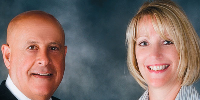 Rocky Farhat and Debra Peters, owners of the Re/Max Affinity Plus franchise. SUBMITTED PHOTOS