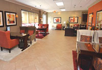 This Punta Gorda Internet Café sales office is the model for the new Marco Walk location.