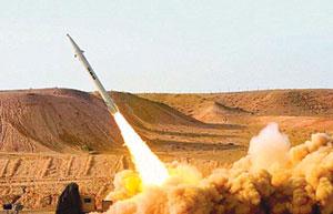 Iran tests missles