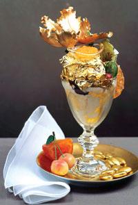 The thousand dollar sundae.