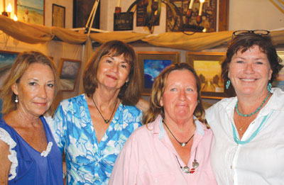 Artists Judy Wittwer, Celeste Navara, Margie Fortune and Tara O'Neill showcased their artwork the weekend of April 13th and 14th.