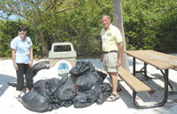 The results: a mound of trash on our beaches now removed. SUBMITTED PHOTOS
