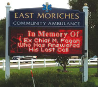 Upon Michael's passing, the East Moriches Community Ambulance posted this message.