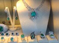 Huge Emeralds. PHOTOS BY RICHARD ALAN