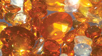 The Australian Fire Opal has been found in a  variety of colors - from clear to fiery oranges and reds. SUBMITTED PHOTOS