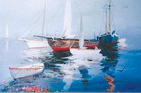 Grubbe's 'Fishing Boats'