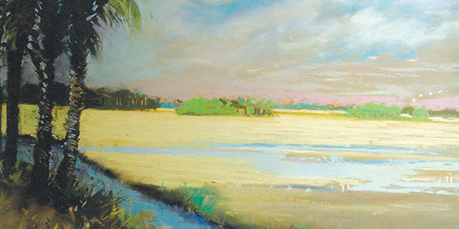 Moseley's 'Everglades Approaching Storm'