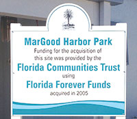 Florida Forever Funds are given to properties of either environmentalor historical value. PHOTO BY NATALIE STROM
