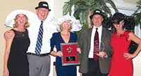 Winners! The McCarty Group brings new meaning to Hat Trick.