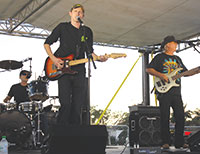 Randy McNeely Band rocks it on the Kriger Orthodontic stage. SUBMITTED PHOTOS