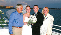 Butch and his wife, Nadine, at son Greg's wedding. SUBMITTED PHOTOS