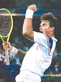 Jimmy Connors. FILE PHOTO