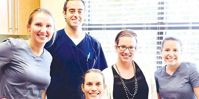 Dr. Daniel Wasserman and his team at Skin Wellness Physicians. SUBMITTED PHOTOS