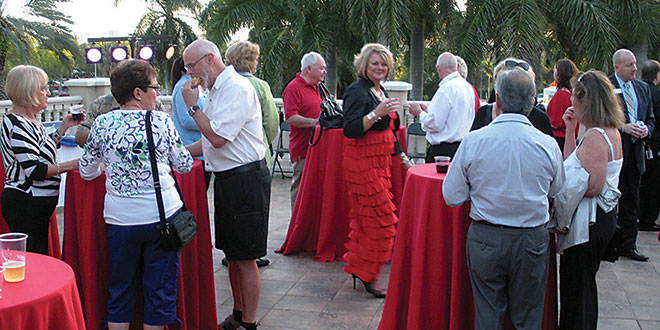 The Marco Island branch of BMO Harris Bank's Holiday Spectacular attracted about 80 holiday revelers. PHOTOS BY DON MANLEY