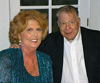 Sandi Riedemann and Monte Lazarus.