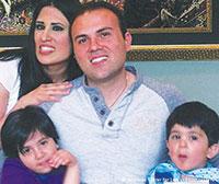 Saeed Abedini and family.