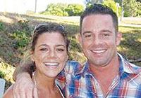 Kate Steinle and brother Brad.