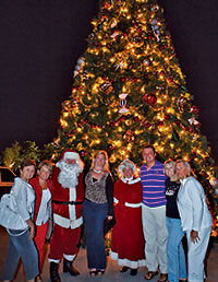 The Christmas Tree Lighting is a community celebration.