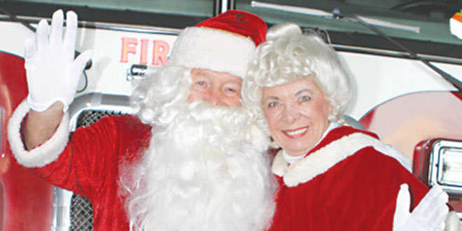 Santa and Mrs. Claus are coming to the Shops of Marco. SUBMITTED PHOTOS