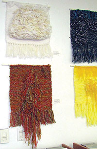 Artist Joanna Sunshine's fiber art is on exhibit at the Marco Island Public Librarythrough February.  SUBMITTED PHOTO