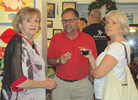 Artist Claire Keery speaks with David and Kathy Caruso.