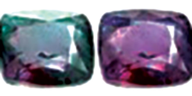 Natural or imitation gems?