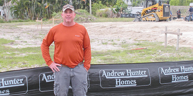 Chris Burt, owner of the Island Garden Center of Marco Island. Photo by Don Manley