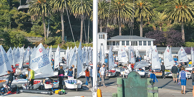 220 sailors, ages 9-16 competed in the invitation-only event.