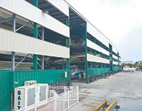 Storage facility at WalkersHideaway Marina.