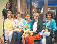Janice Engel, Linda Colombo, Dale DeFeo, Cristina Leske, Connie Lowery and KathyHershberger.